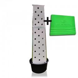 Aeroponic Turm + Steuerung